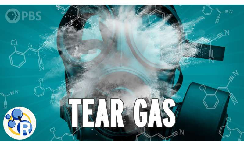 How tear gas affects your body (video)