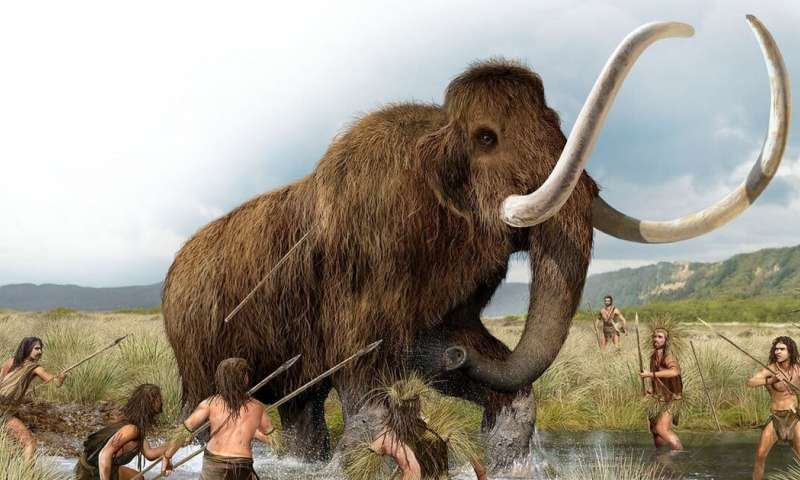 How the extinction of Ice Age mammals may have forced humans to invent civilization
