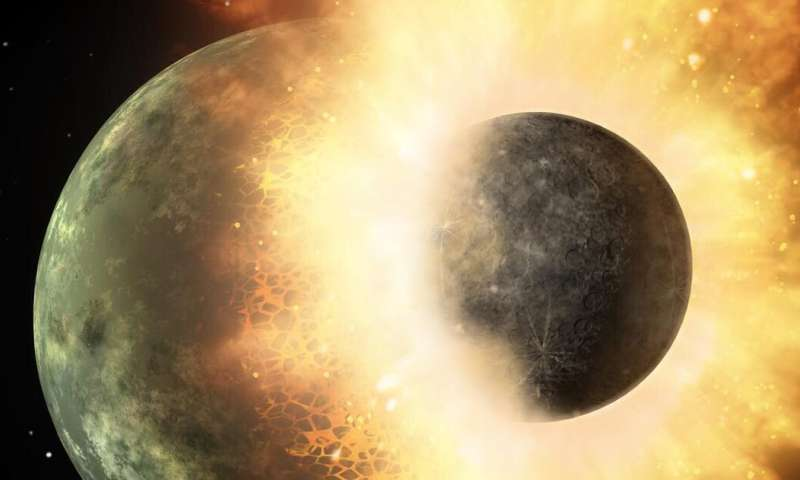 How the moon formed – new research
