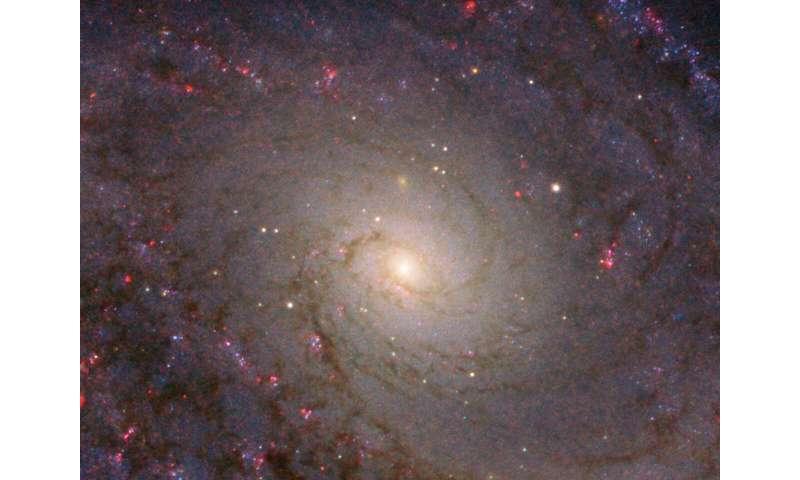 Hubble captures grand spiral