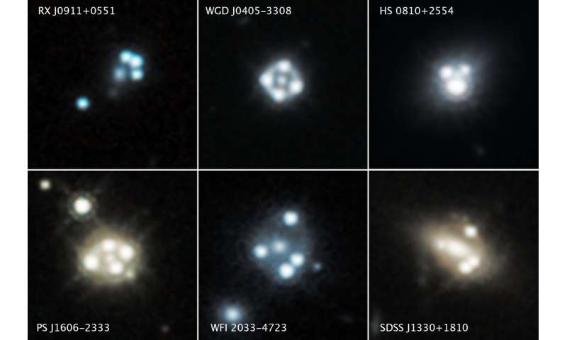 **Hubble detects smallest known dark matter clumps