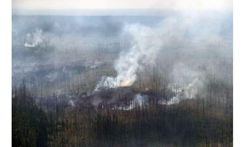 Huge forest fires put health at risk