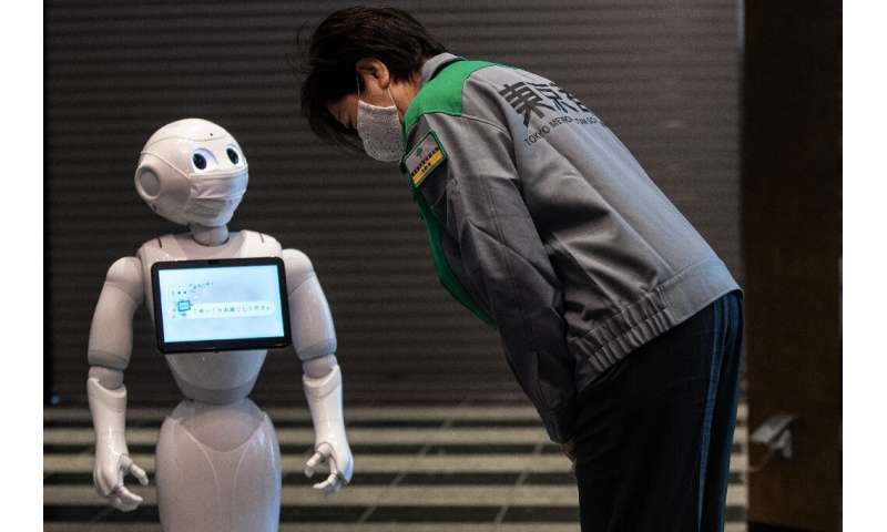 Humanoid robot Pepper will offer support and advice to patients in coronavirus quarantine at a Tokyo hotel