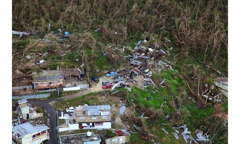 Hurricane Maria's impact on Puerto Rico's population will last for decades, study shows