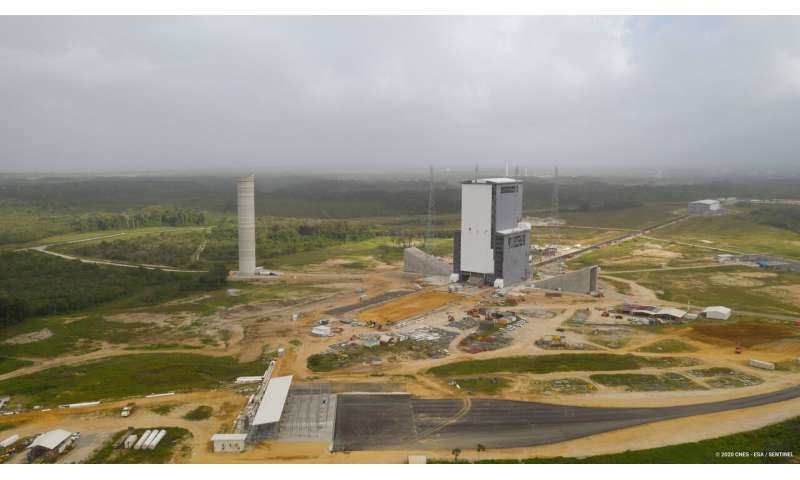 Image: Ariane 6 launch zone at Europe's Spaceport