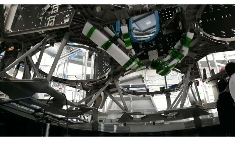 Image: Backbone of a spacecraft