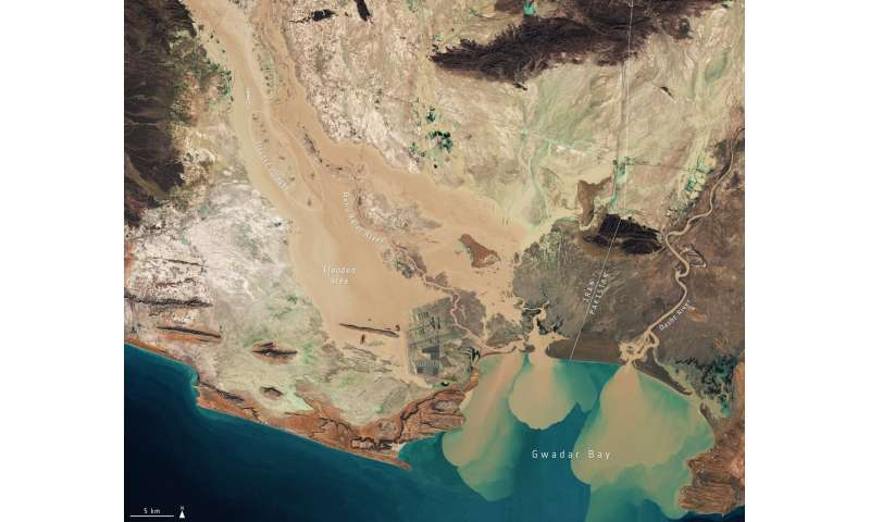 Image: Flooding in southern Iran