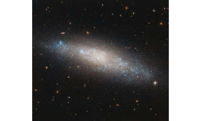 Image: Hubble sights galaxy's celestial sequins