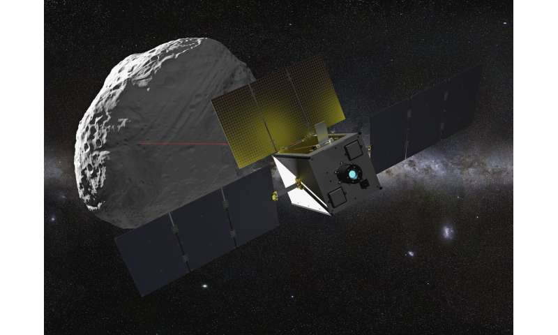 Image: Suitcase-sized asteroid explorer
