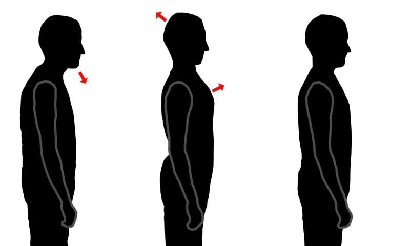 Improve balance by lightening up about posture
