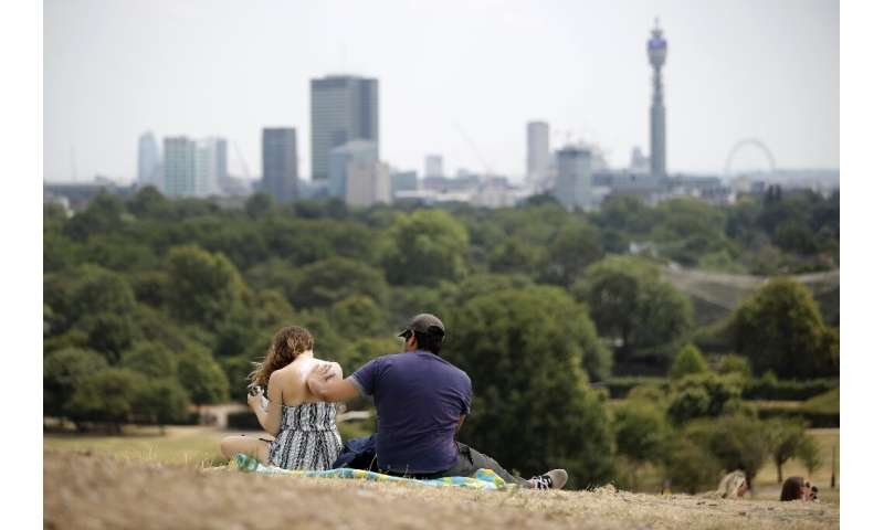 In 2018 the UK summer temperature was a joint record high