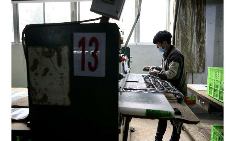 Independent analyses say only about one-third of China's factory workers had returned