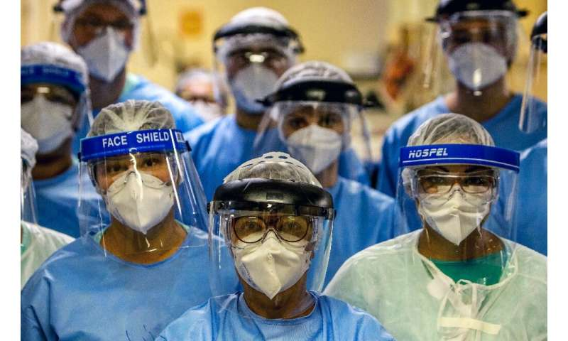 Infections in Brazil, already the third-highest globally, are climbing by the thousands, with the outbreak in the world's sixth-