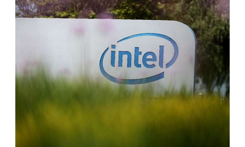 Intel shares took a hit as the pandemic hit sales of its products for data centers and connected devices