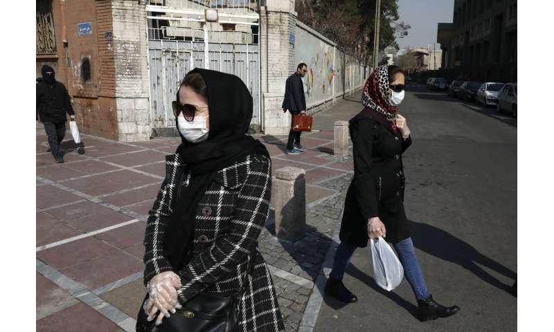 Iran says new virus kills 54, death toll climbs to 291