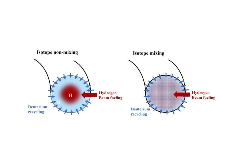 Isotope movement holds key to the power of fusion reactions
