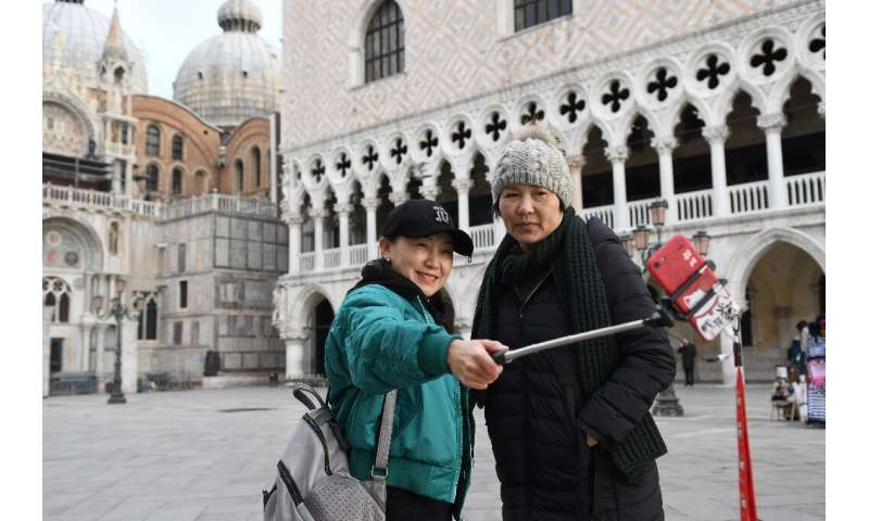 Italy is also a popular European destination for Chinese tourists