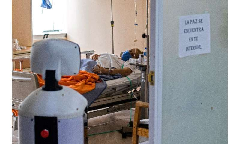 It is part of a global trend of using robots to curb the spread of the coronavirus
