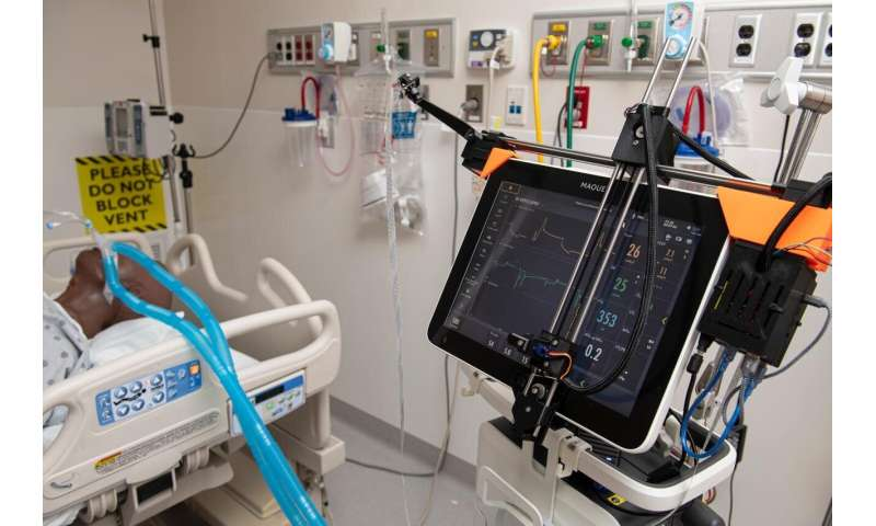 JHU robotic system remotely controls ventilators in COVID-19 patient rooms