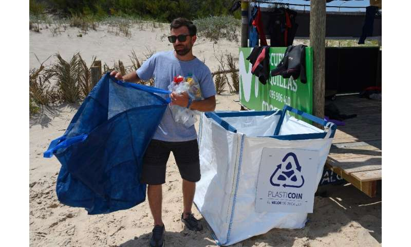 "Juan Rivero is the co-founder of the ""Plasticoin"" project that aims to encourage plastic recycling in Uruguay"