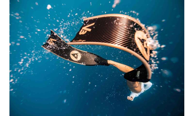 Just add nano-materials for stronger, tougher diving fins