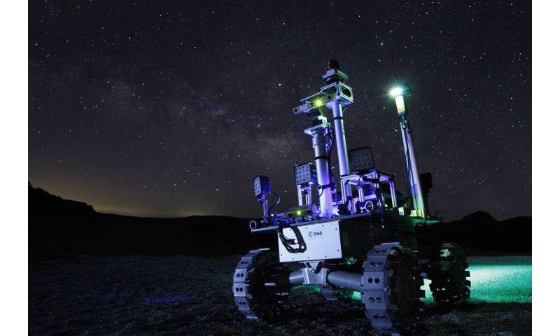 Laser-powered rover to explore moon's dark shadows