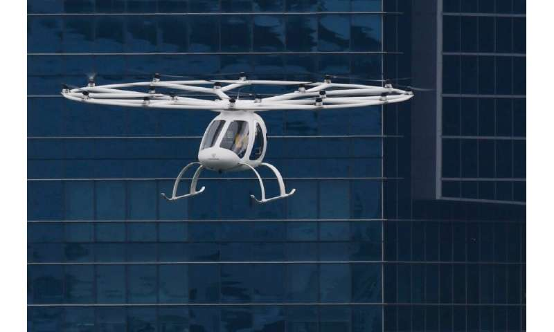 Last year, Volocopter tested its airborne taxi in the heart of Singapore