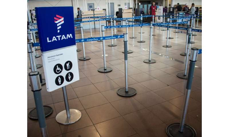 LATAM, Latin America's largest airline, has filed for bankruptcy protections because of the impact on travel of the coronavirus