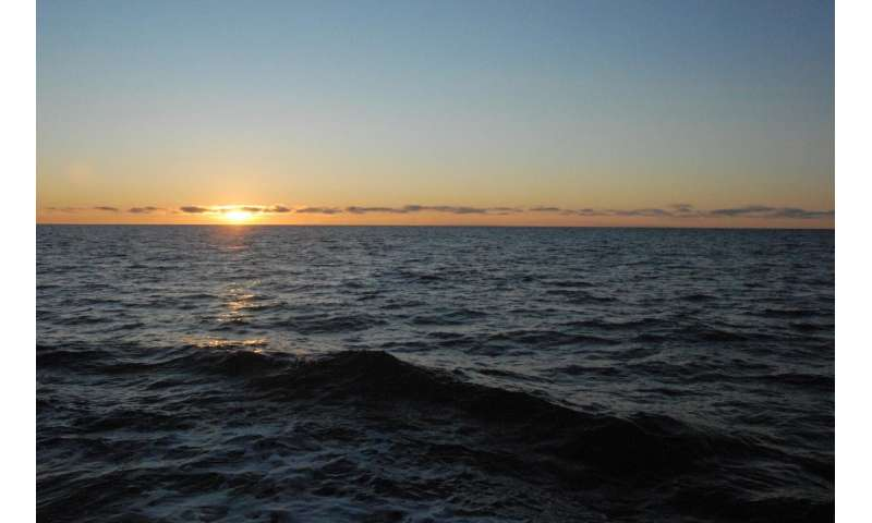 Late-season Arctic research cruise reveals warm ocean temperatures, active ecosystem