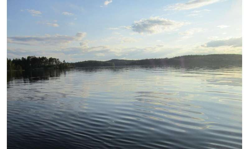 Less ice, more methane from northern lakes: A result from global warming