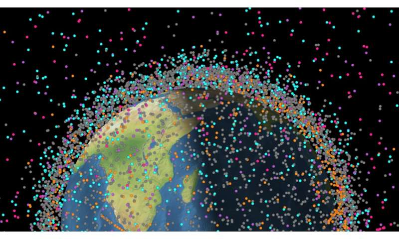 Less than infinite — space is becoming an orbital landfill