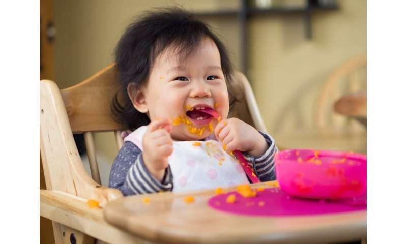 Let babies be in charge of how much they eat – it could help them stay a healthy weight