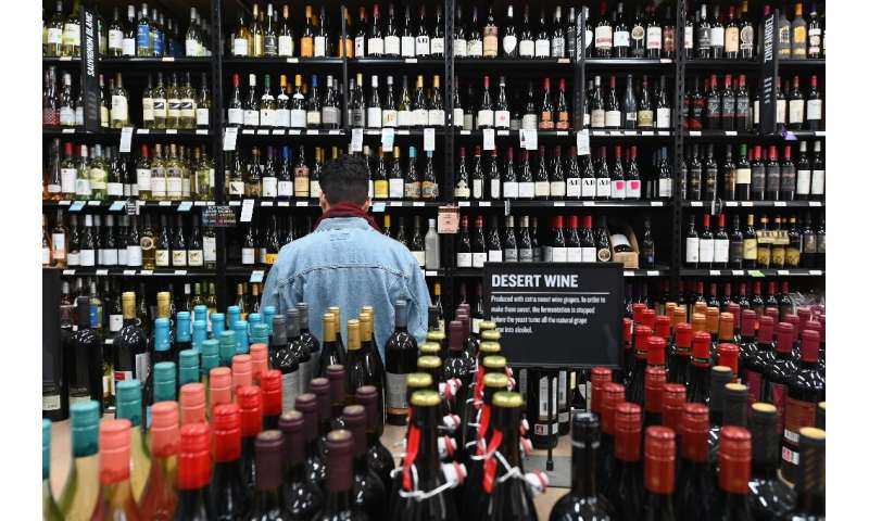 Liquor stores in New York have been open and busy