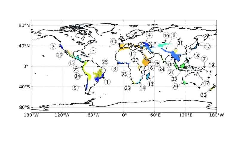 Perdiendo terreno en puntos críticos de biodiversidad en todo el mundo
