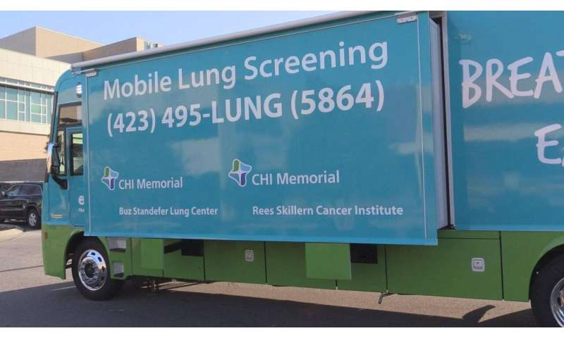 Lung screening bus brings high-tech health care directly to patients