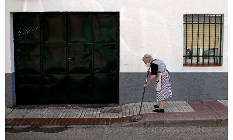 Madrid residents have been advised to keep social contacts and movements to a minimum