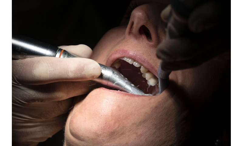 Many dentists were forced to close in Britain because of the coronavirus epidemic, and some patients had to then give themselves