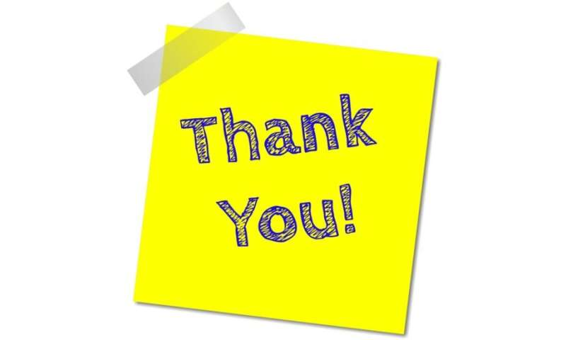 Many employees feel underappreciated at work and would like a 'thank you' more often