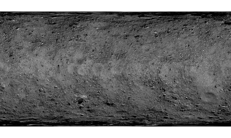Mapping the solar system: from the moon to Bennu