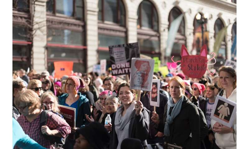 Marching for change: 2017 Women's March met with mostly positive support online