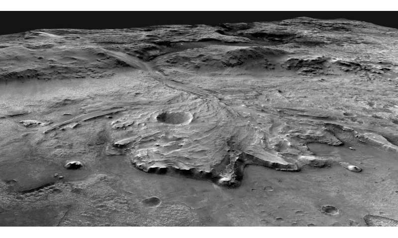 Mars 2020 mission to be guided by USGS astrogeology maps