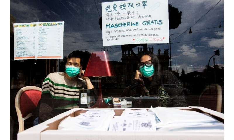 Masks not meals are on the menu as Italy ponders loosening its lockdown restrictions