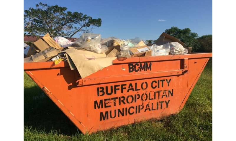 Medical waste offers insights into South Africa's use of pharmaceuticals