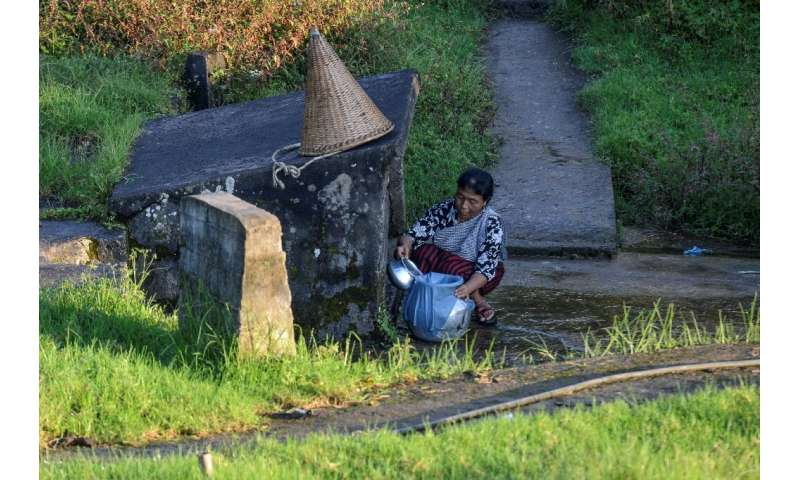 Meghalaya authorities are now working with communities to build rainwater reservoirs for each area so they can better harness th