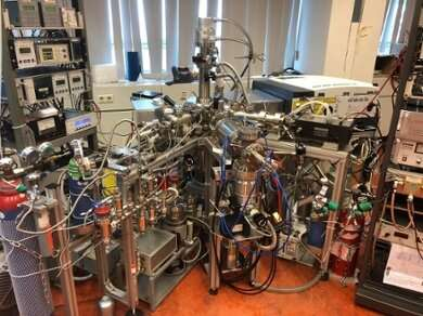 Methane forms under space conditions in laboratory