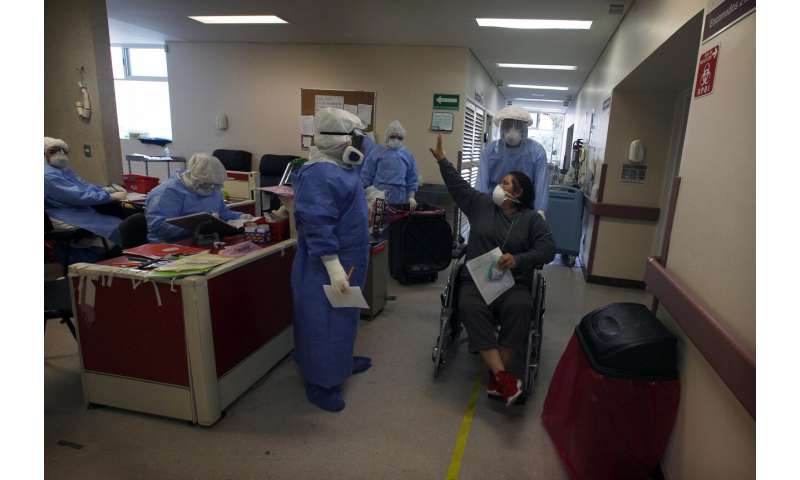 Mexico City hospitals are filling up, but so are the streets thumbnail