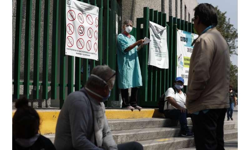 Mexico: coronavirus kills 111 medical staff, infects 8,544