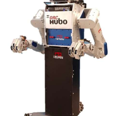 M-Hubo: a wheeled humanoid robot to assist humans in simple daily tasks