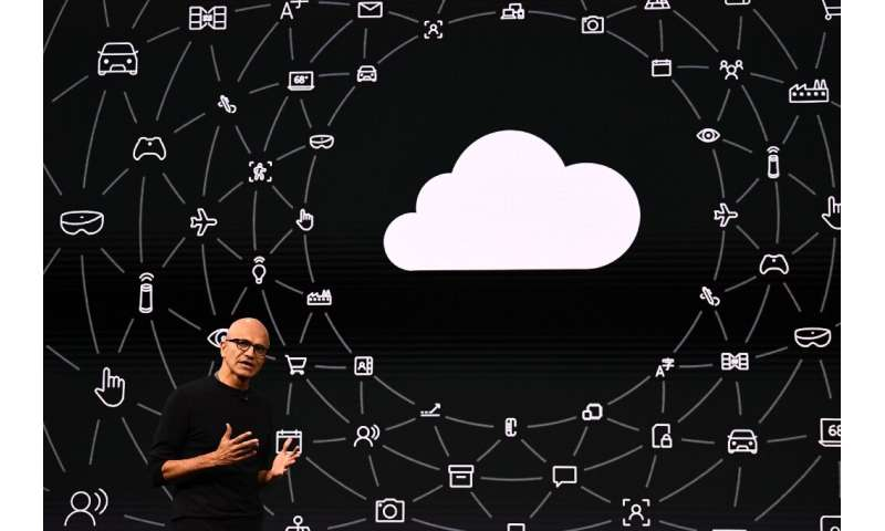 Microsoft CEO Satya Nadella says the tech giant's latest results come from a variety of consumer and business services including