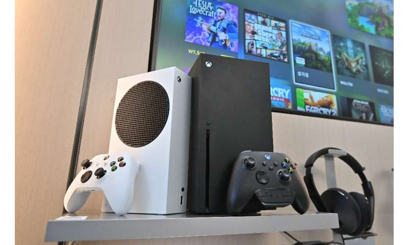 Microsoft's black Xbox Series X and white series S gaming consoles have launched just two days before Sony releases the PlayStat